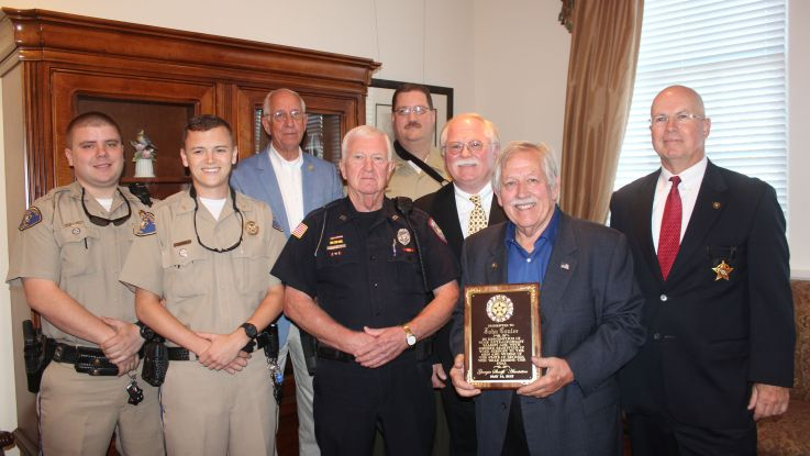 John Conlee Honored by Georgia Sheriffs' Association with ...