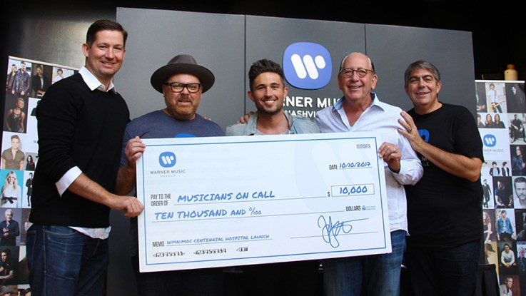 Musicians On Call Teams Up With Warner Music Nashville to Celebrate