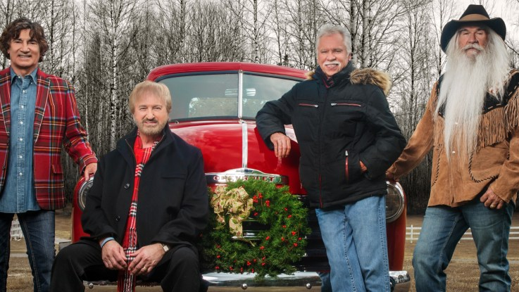 Cracker Barrel Christmas.The Oak Ridge Boys Celebrate Christmas Available At