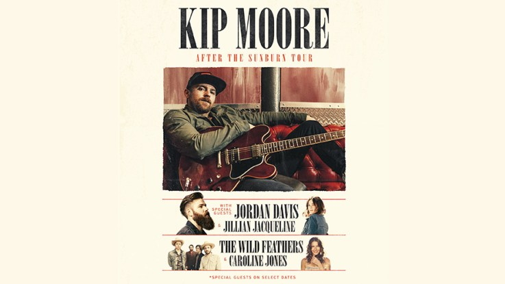 Kip Moore Plots Blazing-Hot AFTER THE SUNBURN Headlining