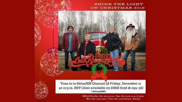 Siriusxm Christmas Music.The Oak Ridge Boys Live From Branson Christmas Special