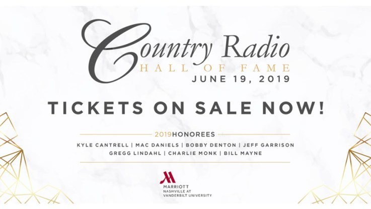 Tables And Individual Tickets Available For Country Radio