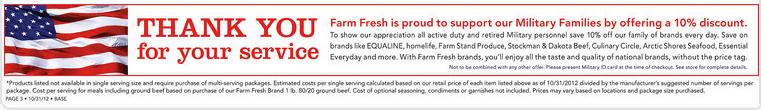 Farm Policy Coupon Fresh