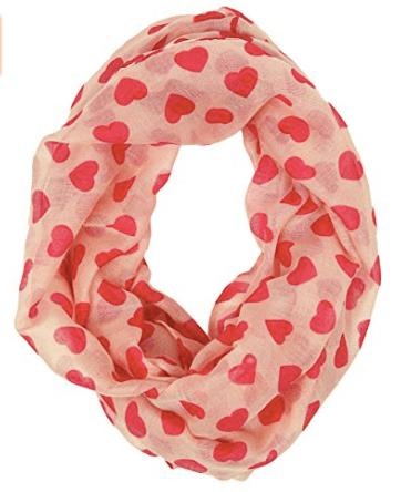 Valentine's Day scarf