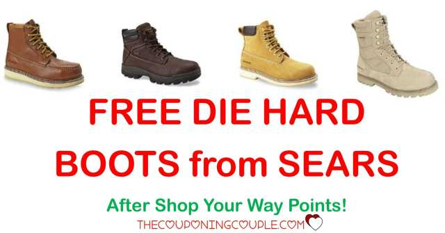 Free Die Hard Work Boots
