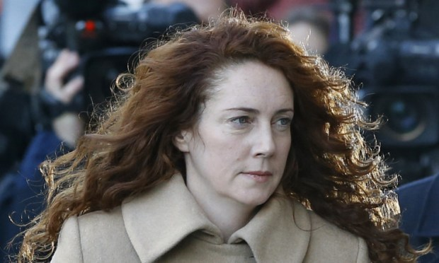 Rebekah Brooks arrives at court.