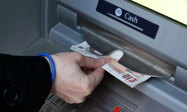 The devices were found on two cash machines in Cupar.