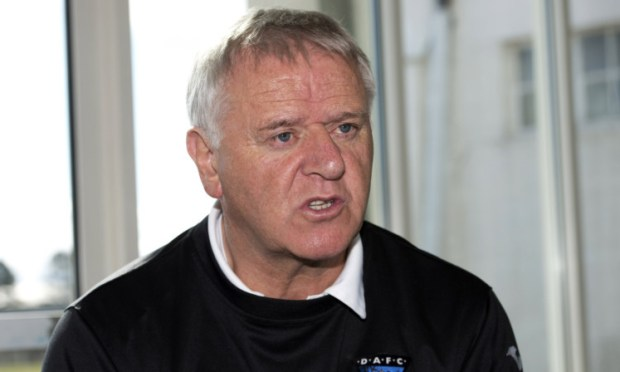 Dunfermline manager Jim Jefferies.