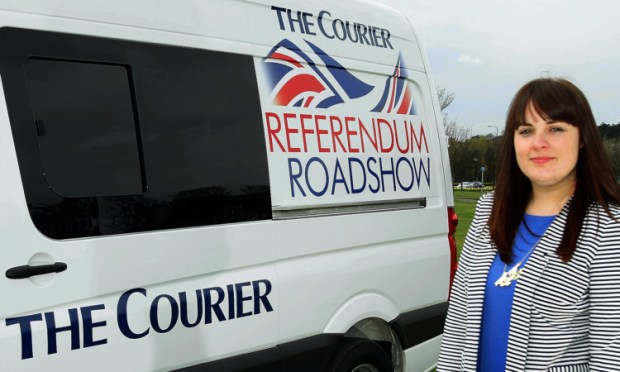 Colette McDiarmid and the rest of the roadshow team were in Perthshire on Monday.