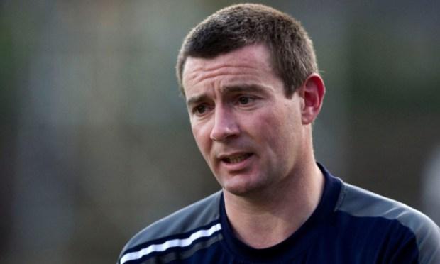 27/03/12 IRN-BRU SFL DIV1 DUNDEE v AYR UTD (4-1) DENS PARK - DUNDEE Dundee manager Barry Smith.