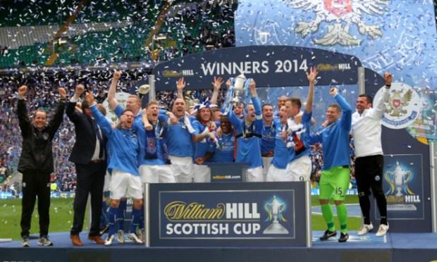 Scottish Cup holders St Johnstone