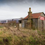 Angus railway hut is ideal des res for trainspotters  but not for a light sleeper