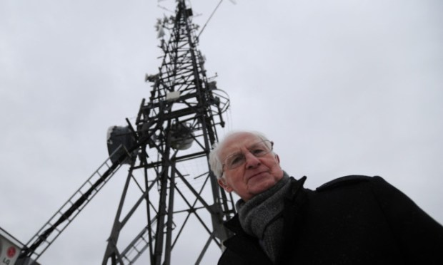 Former Lord Provost John Letford says the communications mast on the Law is 'an abomination'.