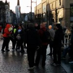 VIDEO: Tempers flare at Irish republican protest in Dundee
