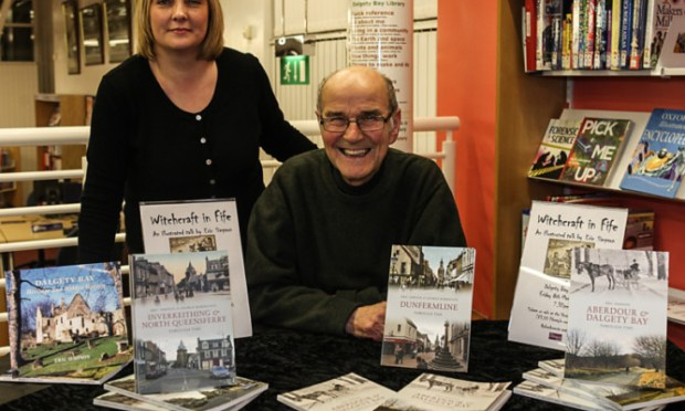 Fife author Eric Simpson.