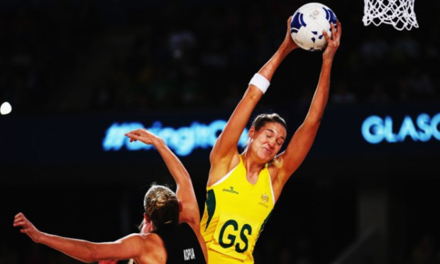 Eve watched the New Zealand v Australia netball final.