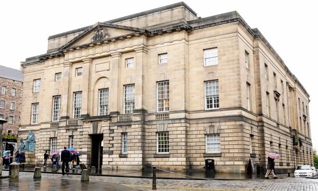 Gordon Robbie Evening Telegraph High Court Edinburgh where the Ramzan fraud trial is being held