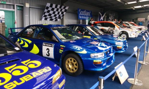 Colin McRae dominated the international rally scene in his Subaru in the 1990s.
