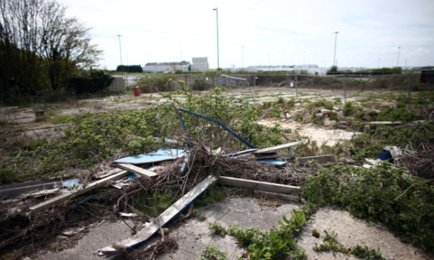 The bill will help local communities buy waste land and derelict buildings and develop them.