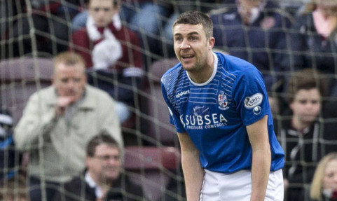 Colin Nish said penalty decision was a real sickener for Cowden.