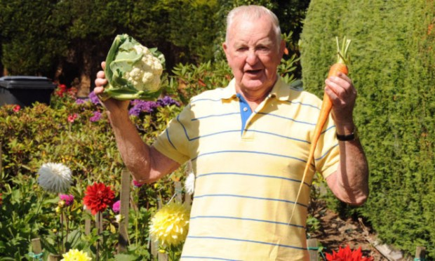 Jim Thomson's veg usually conquers all.