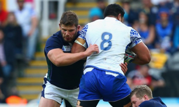 The fate of Ross Ford, above, and Jonny Gray, cited over the Samoa match, will be decided at a hearing
