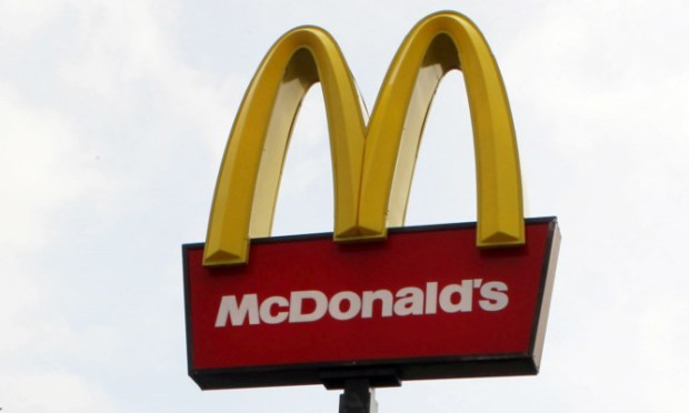 The incident took place in the McDonalds restaurant at Broxden.