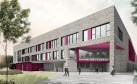 An artist's impression of the new North East Campus in Dundee.