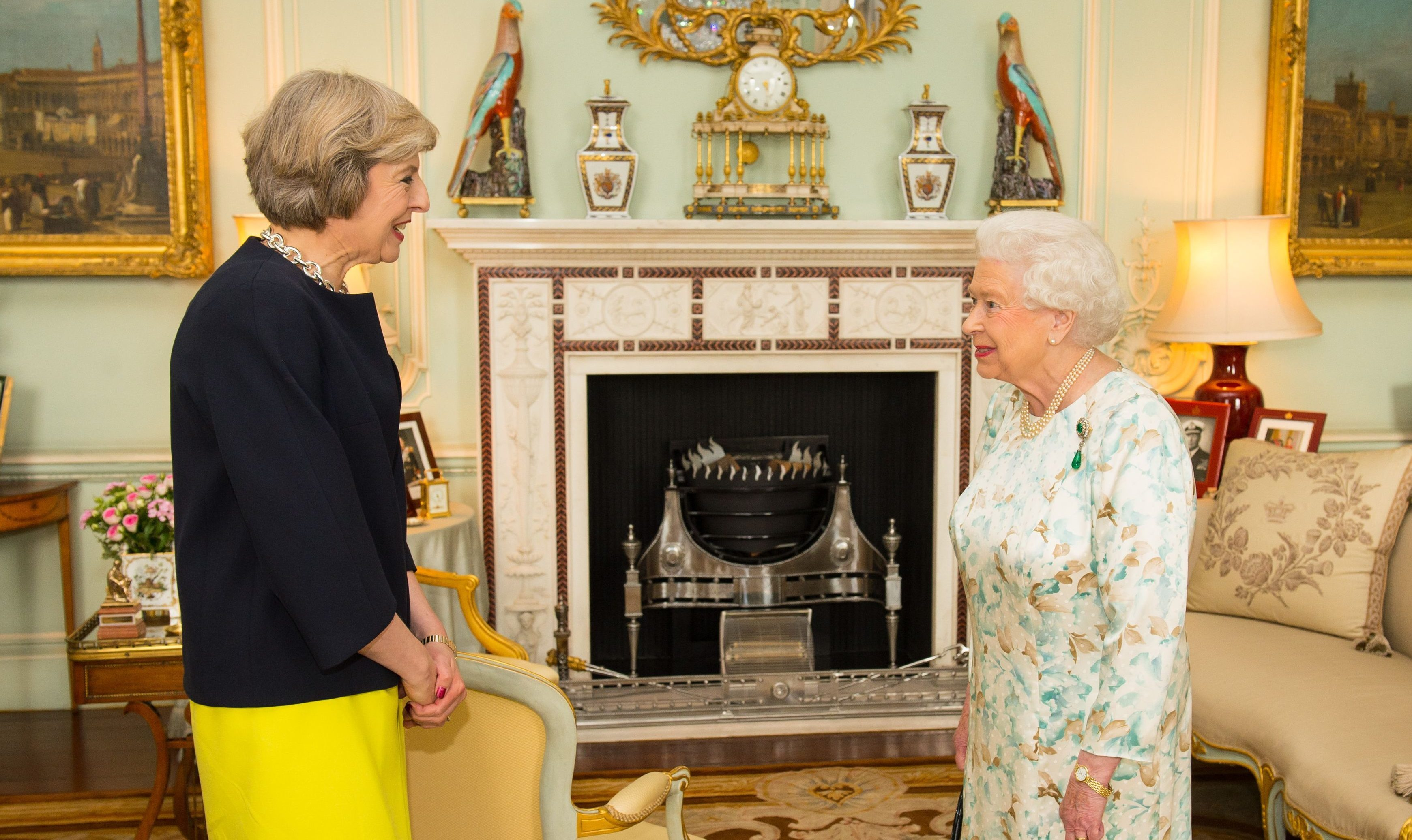 Theresa May officially appointed Prime Minister after meeting the Queen