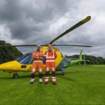 VIDEO: Air ambulance stops in Kirkcaldy's Dunnikier Park in medical emergency