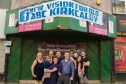 Kings Theatre Kirkcaldy members celebrate taking control of the former cinema building.