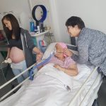 """""""An amazing and emotional experience"""" — terminal cancer patient sees unborn grandchild"""