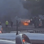 WATCH: Traffic chaos after car fire closes A92 near Carnoustie
