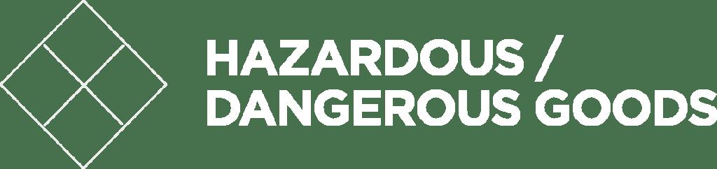 Hazardous, Dangerous Goods
