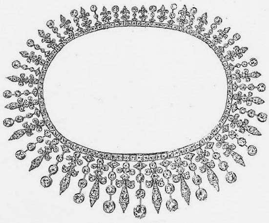 Queen Mary's Collingwood Fringe Tiara