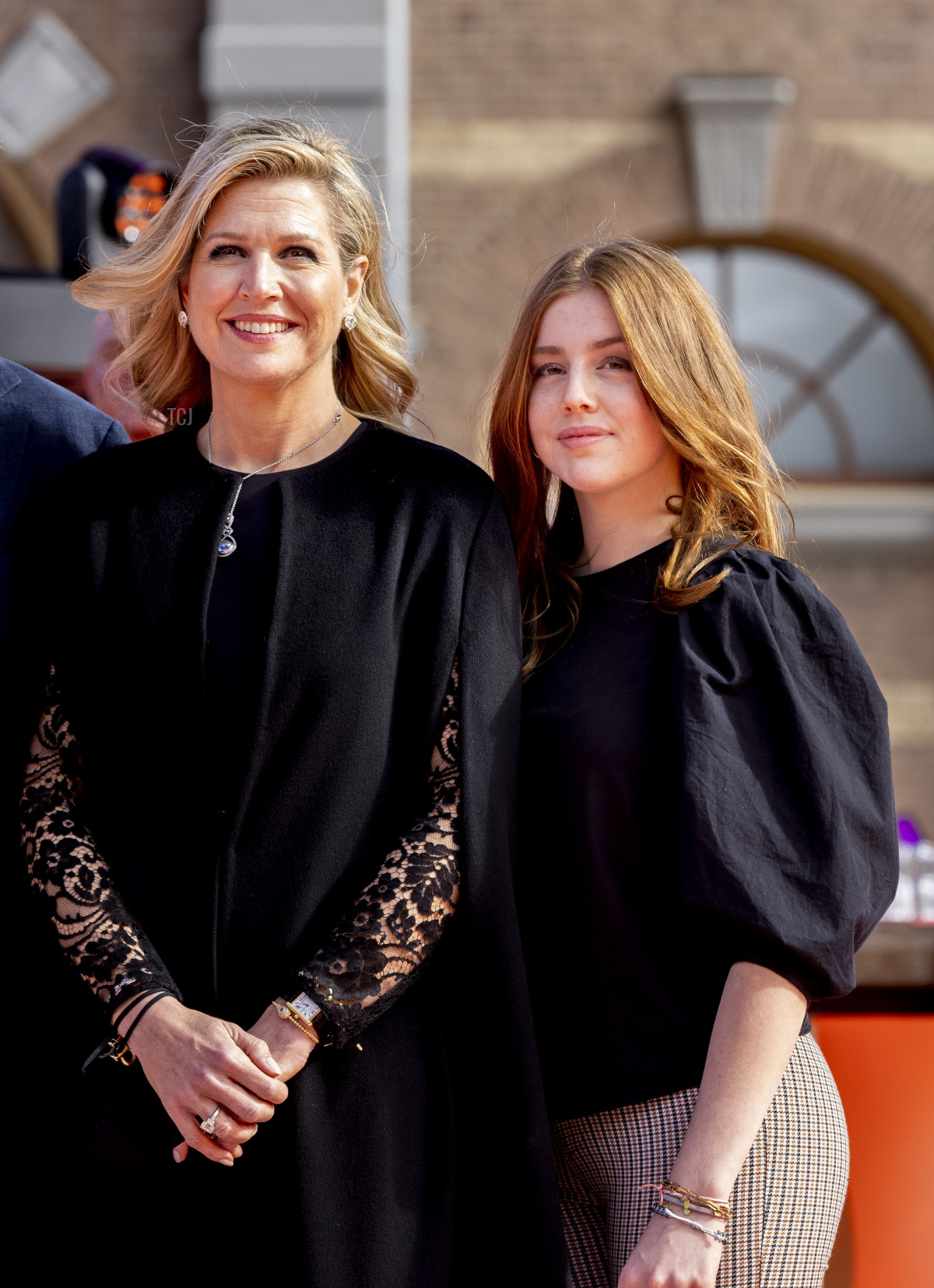 Queen Maxima and Princess Alexia on King's Day, 2021