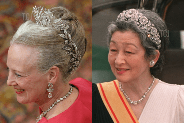 The Danish Floral Aigrette and the Imperial Chrysanthemum Tiara