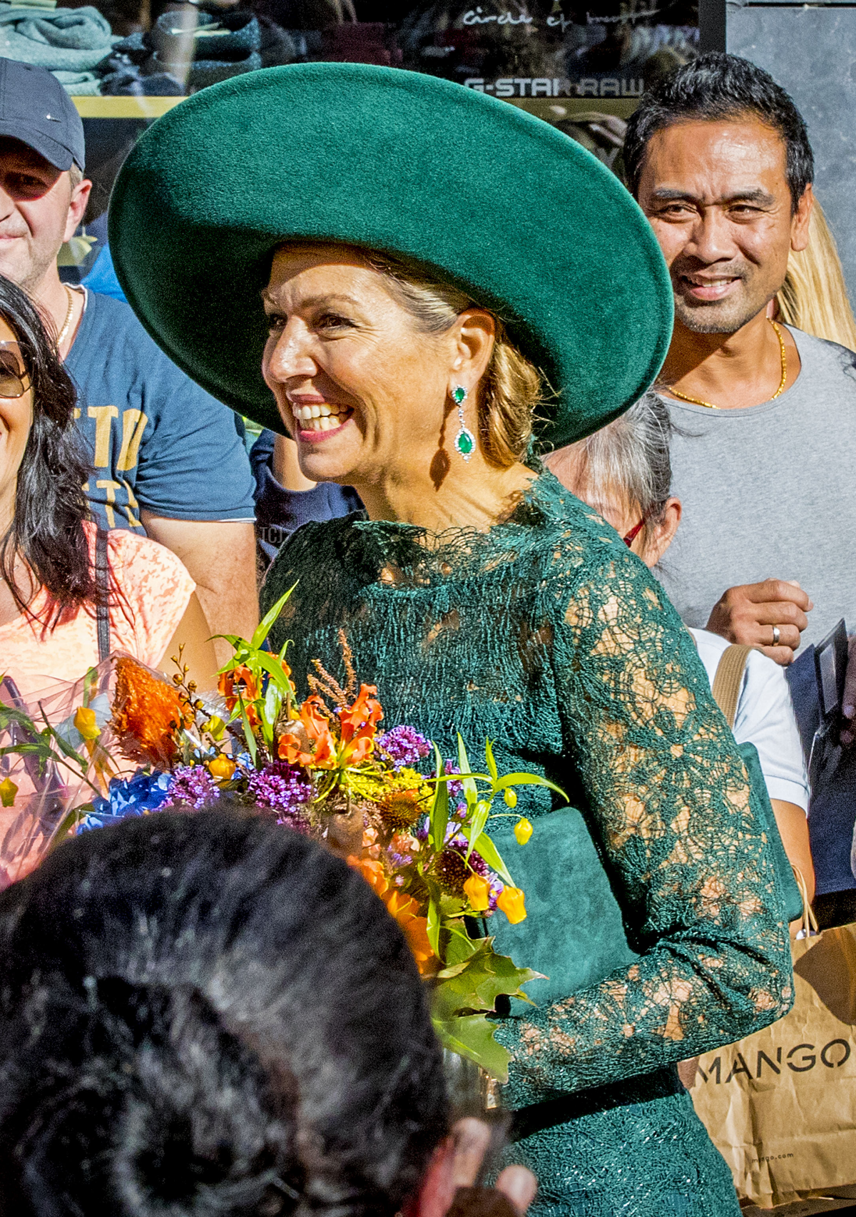 Queen Maxima of The Netherlands attends the 20th anniversary of the Leidsche Rijn area in Utrecht on October 5, 2018