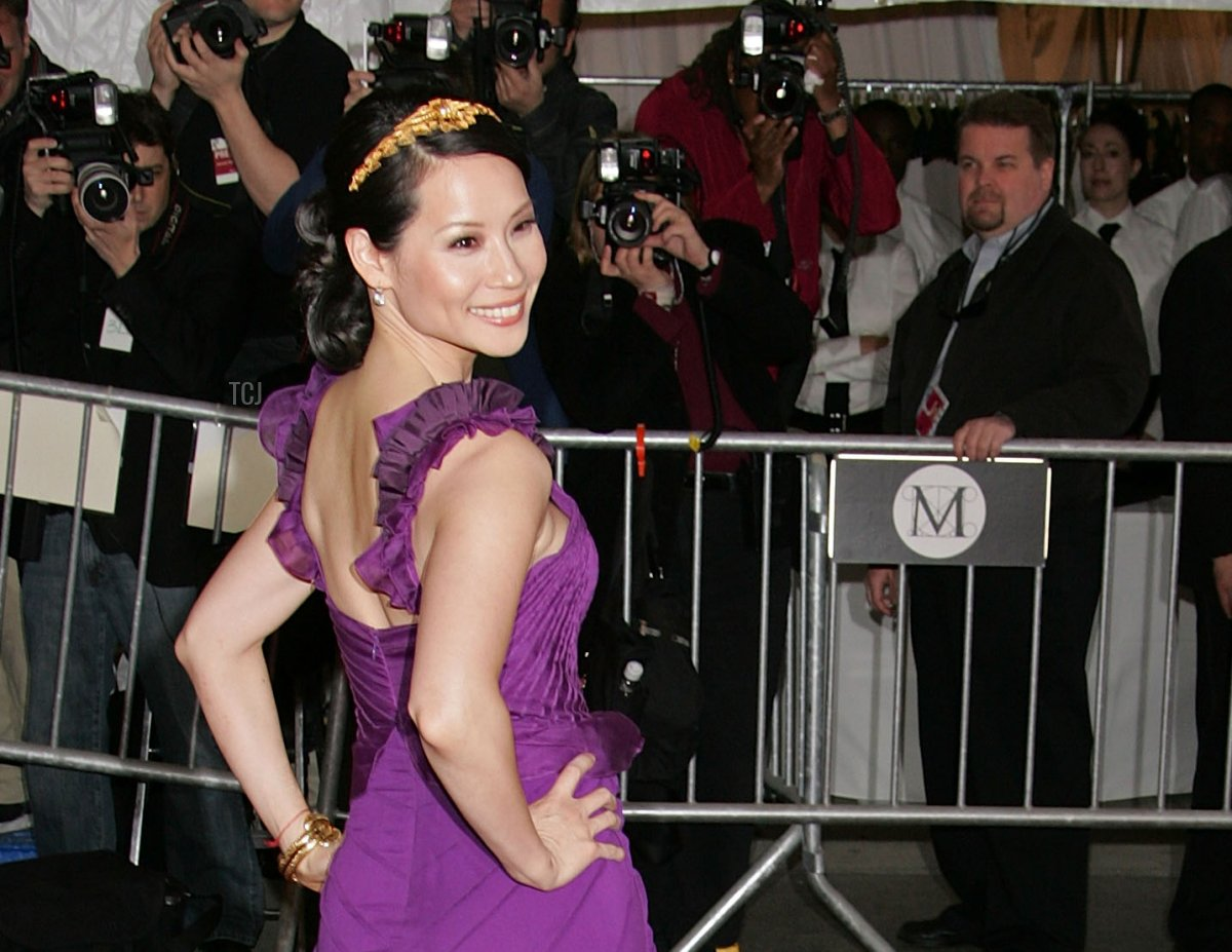 """Actress Lucy Liu attends the Metropolitan Museum of Art Costume Institute Benefit Gala """"Poiret: The King Of Fashion"""" at the Metropolitan Museum of Art on May 7, 2007"""