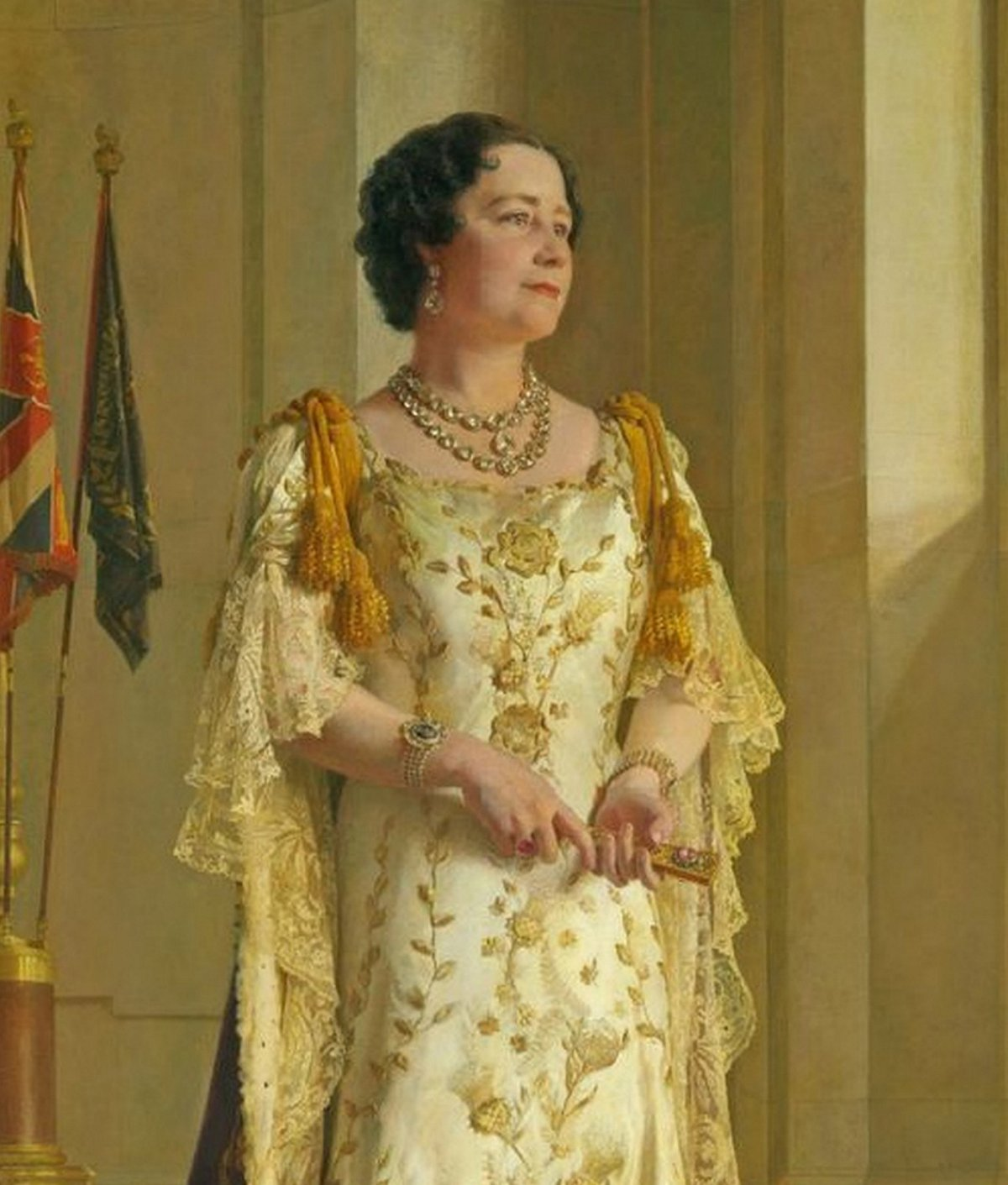 Queen Elizabeth's Coronation Portrait (1937)