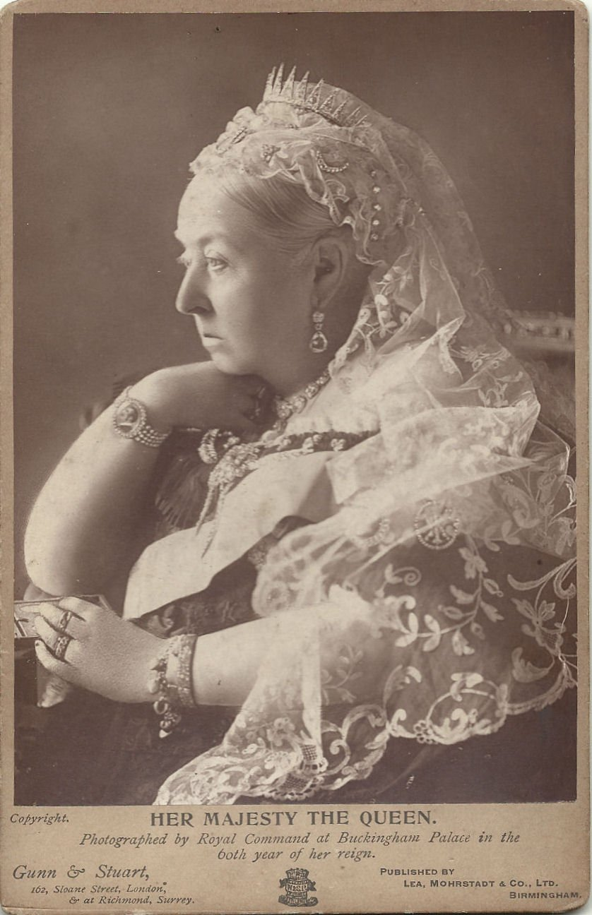 Her Majesty The Queen, photographed by Royal Command at Buckingham Palace in the 60th year of her reign, 1896