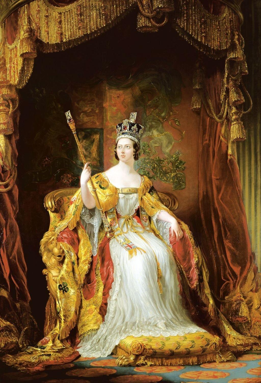 George Hayter: Queen Victoria, 1840