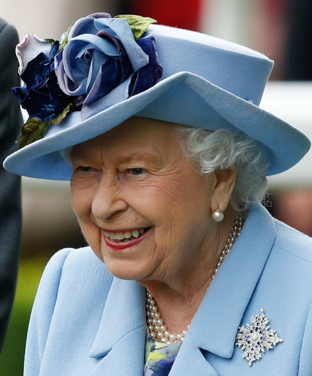 Britain's Queen Elizabeth II attends on day one of the Royal Ascot horse racing meet, in Ascot, west of London, on June 18, 2019