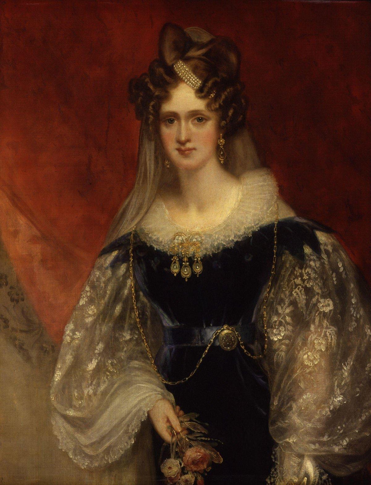 William Beechey's portrait of Queen Adelaide, ca. 1831