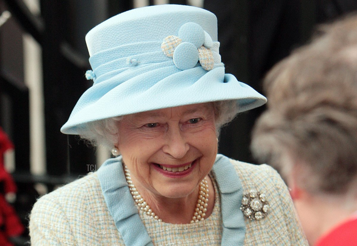 Britain's Queen Elizabeth II arrives at Westminster Abbey in London, ahead of the annual Observance for Commonwealth Day, on March 9, 2009