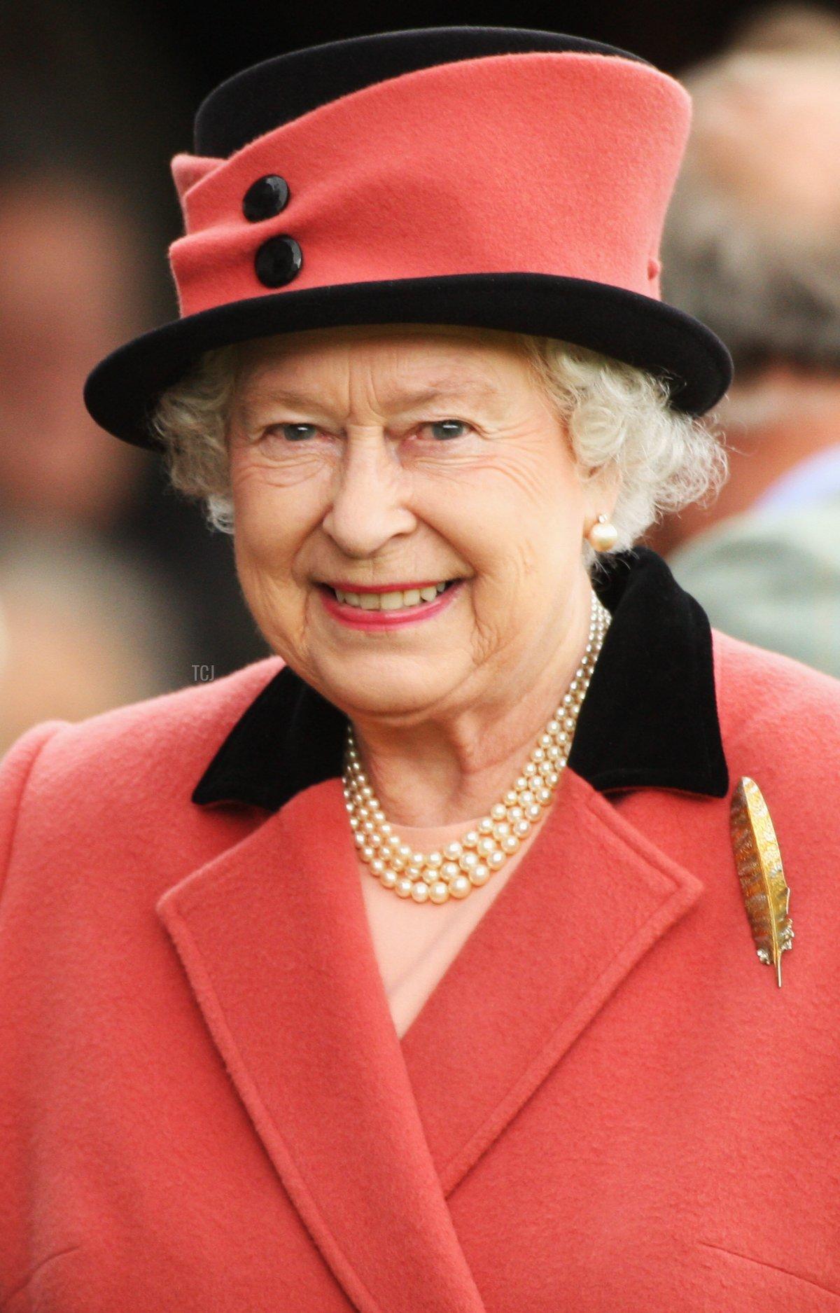 Queen Elizabeth II attends the Annual Braemar Highland Gathering on September 6, 2008 in Braemar, Scotland