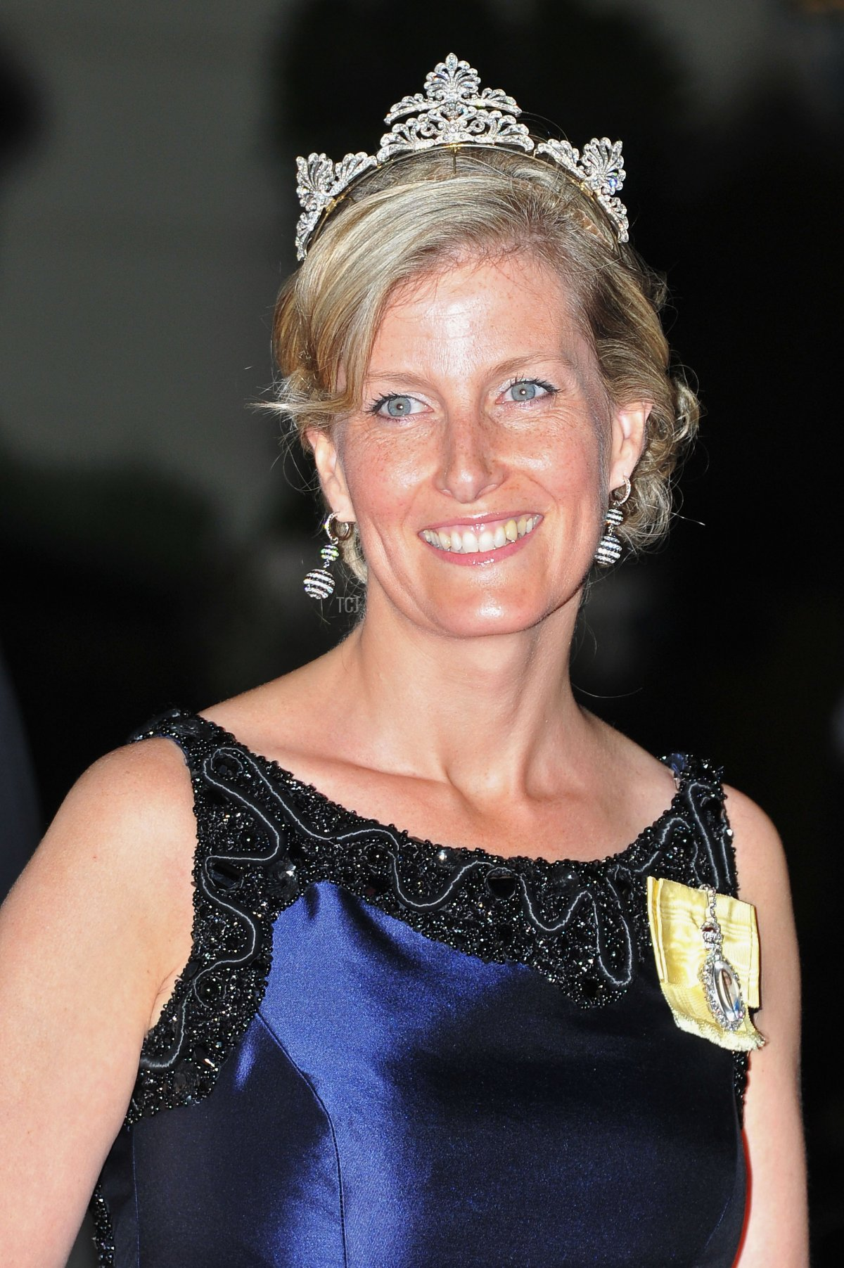 Sophie, Countess of Wessex attends a dinner at Opera terraces after the religious wedding ceremony of Prince Albert II of Monaco and Princess Charlene of Monaco on July 2, 2011 in Monaco