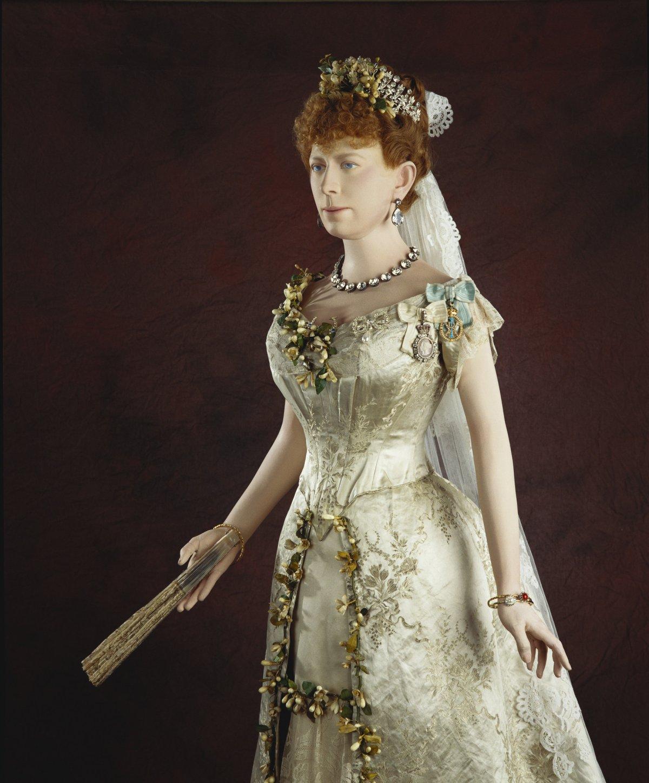 Princess May's wedding dress