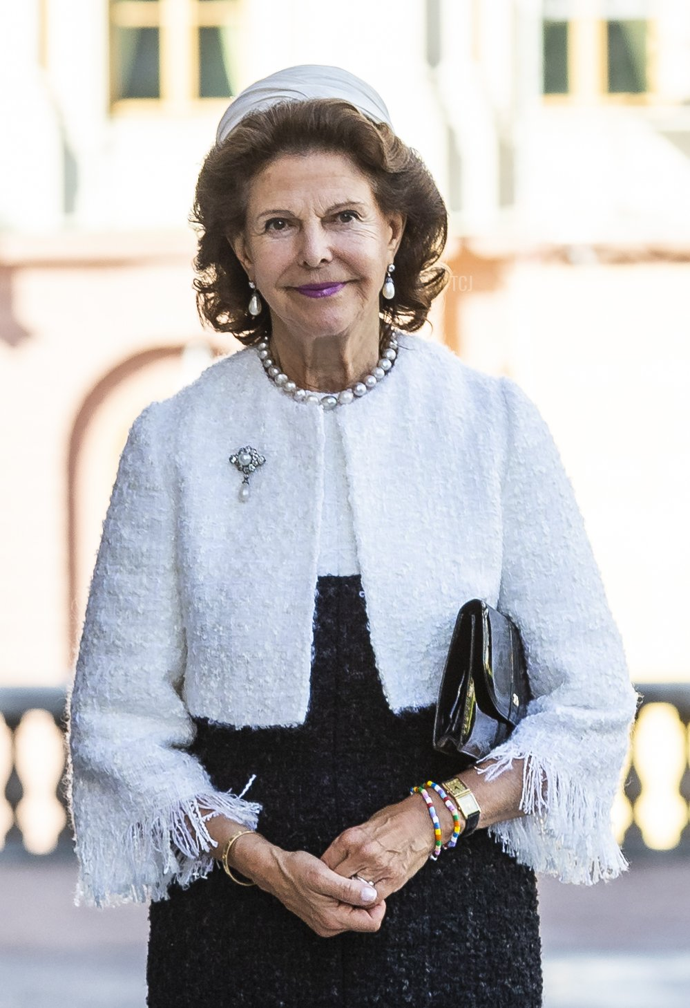 King Carl XVI Gustaf and Queen Silvia of Sweden attend the opening of the Swedish Parliament for the fall session at the Riksdag Parliament building on September 8, 2020 in Stockholm, Sweden