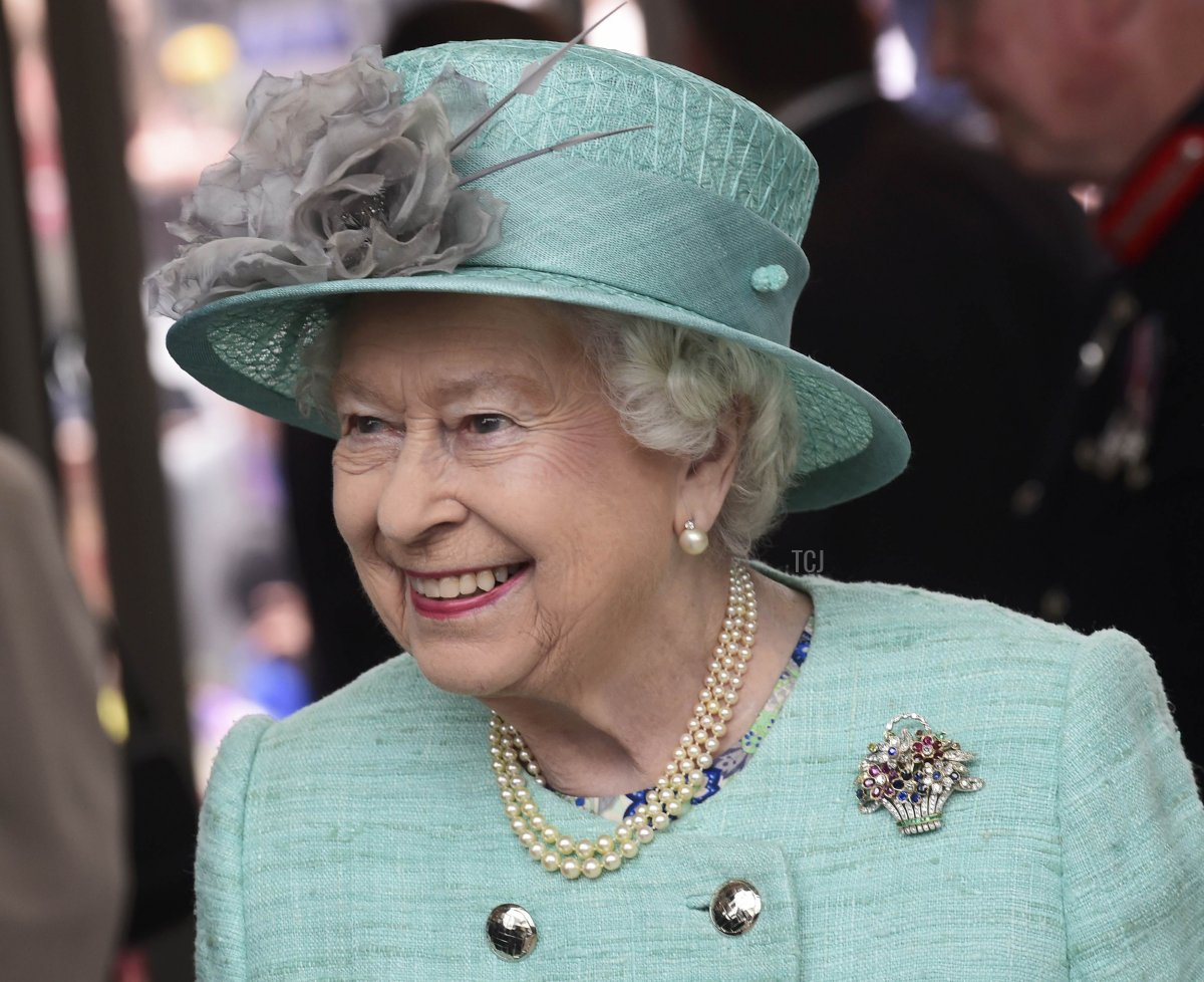 Queen Elizabeth II attends the opening of the Cardiff University Brain Research Imaging Centre on June 7, 2016 in Cardiff, Wales